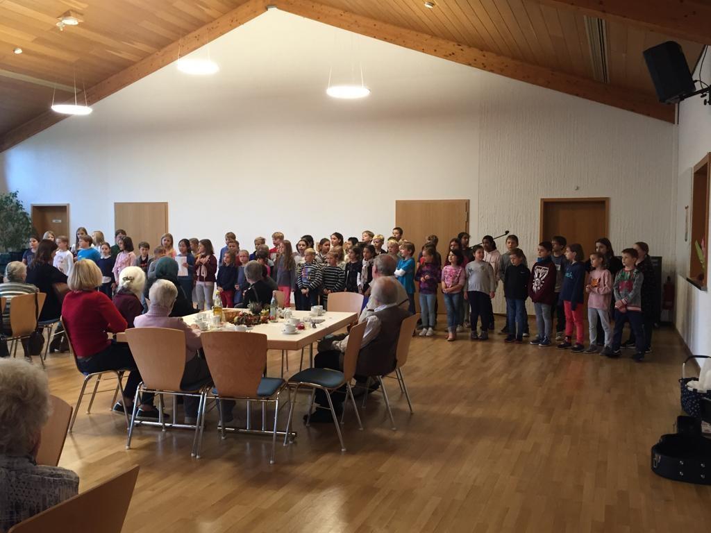 Seniorenkreis ev. Auftritt Chor 2019